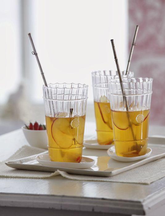 Cider Sangria: Pavan Liqueur de France, hard apple cider, apple juice ...