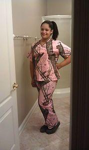Mossy Oak Pink Camo Clothing | NEW NEW Mossy OAK Pink Camo Scrub