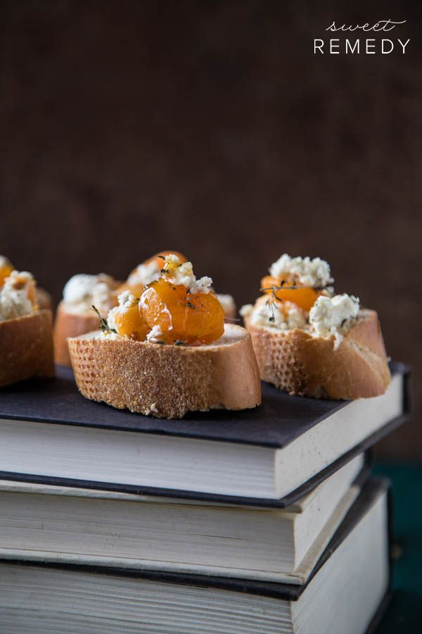 ... basil crostini fig and gorgonzola crostini with honey apricot crostini