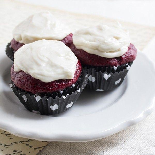 Skinny Mini Red Velvet Cupcakes | Favorite Recipes - Desserts | Pinte ...