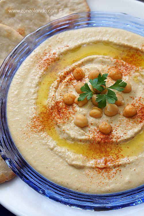 Hummus - Chickpea hummus | Humans live to Eat! | Pinterest