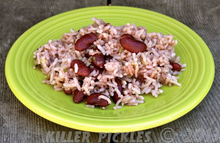 Jamaican Rice and Peas | Beans | Pinterest