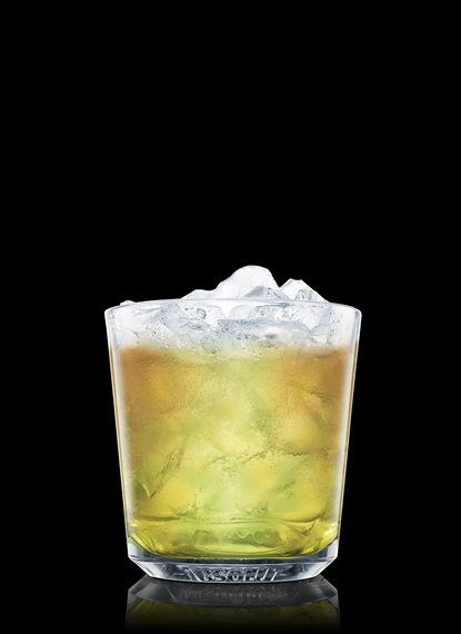 . Fill with ice cubes. Add ABSOLUT Orient apple. Top up with ginger ...