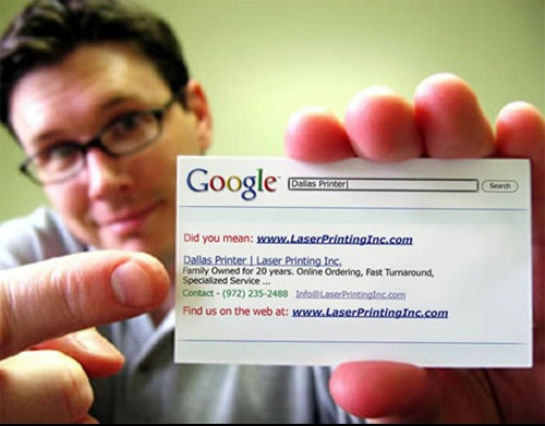 great idea for a business card!