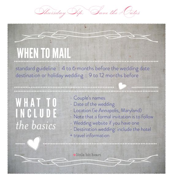 2 Save The Dates Info That Time We Said I Do Pinterest