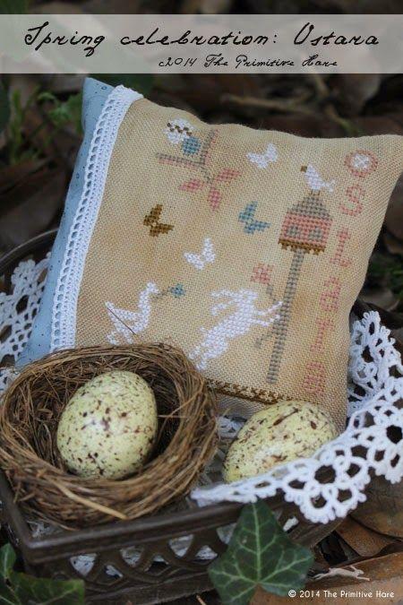 The Primitive Hare: FREE PATTERN: Spring celebration Ostara