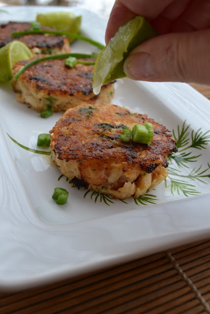 Crab Cakes with Ginger and Coconut Milk | Amazing Appetizers ...