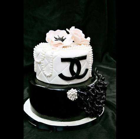Birthday Cake Pictures Chanel : Chanel Birthday Cake cakes Pinterest