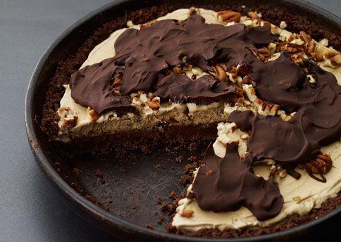 Mississippi Mud Pie (A), AKA Coffee Ice Cream Tart Recipe ...
