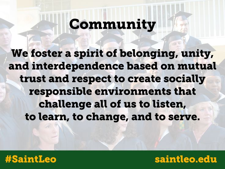 saint leo core values Executive summary saint leo university's qep,  thinking skills, helps students explore the saint leo university core values while clarifying their.