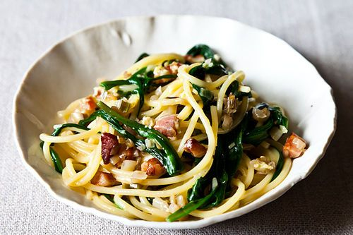 Ramp Carbonara - ramps grow abundantly in my parents woods. No need to ...