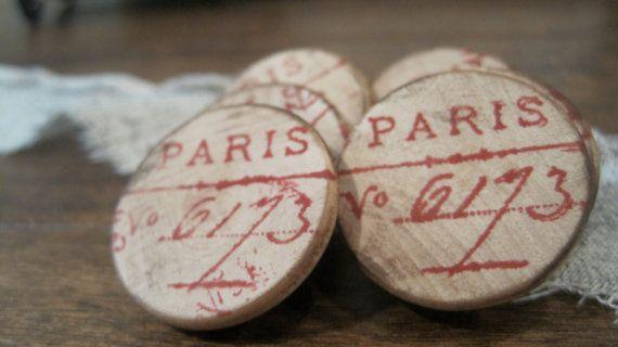 Paris 6173 Wedding Favors Set of 6 by Burlap by BurlapandLinenCo, $12.00
