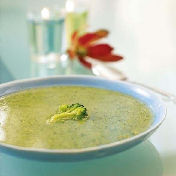 Soup Recipes: Heart Healthy Creamy Broccoli Soup-Shape Magazine