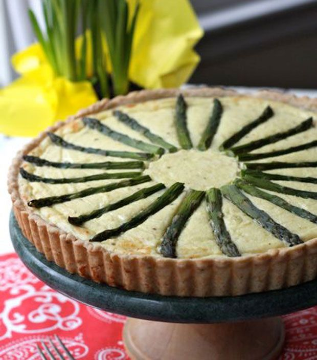 Savory Ricotta Tart with Rosemary Parmesan Crust Recipe - RecipeChart ...