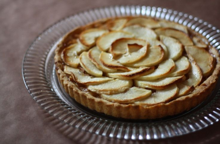 honey-glazed apple tart | Rosh Hashanah & Yom Kippur | Pinterest