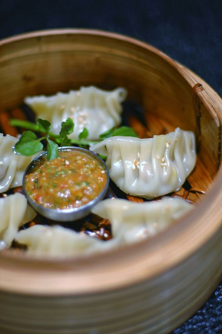 Lamb Momo's with Tomato and Coriander Pickle - Nepal and Everest Base ...