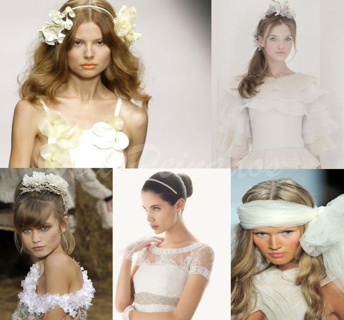 Tocados modernos para novias peinados pinterest - Peinados de novia modernos ...