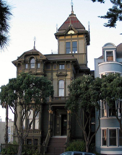 Victorian house san francisco house pinterest for San francisco victorian houses