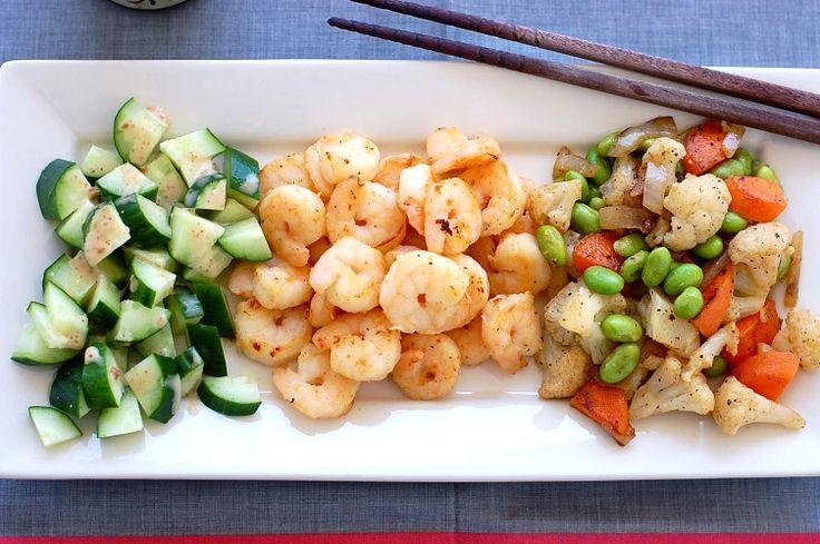 Butter Than Toast : Miso Shrimp with Sautéed Vegetables