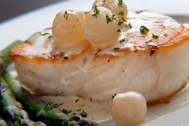 Oscars Party recipes - Chilean Sea Bass with Lemon Butter Sauce and ...