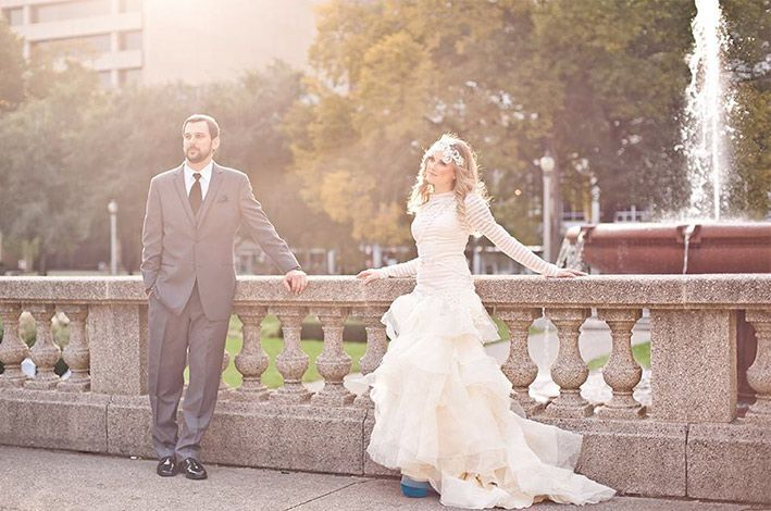 Handmade Wedding Dresses Chicago : Wonderful custom made wedding dresses chicago given modest design
