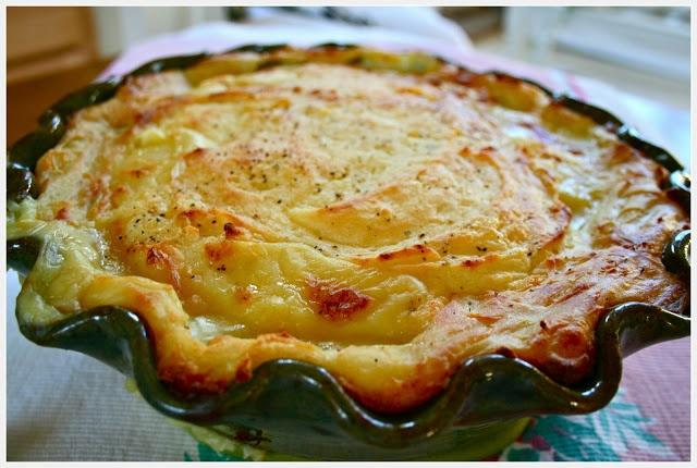 Chicken Pot Pie with Mashed Potato Crust | BREAKFAST & BRUNCH | Pinte ...