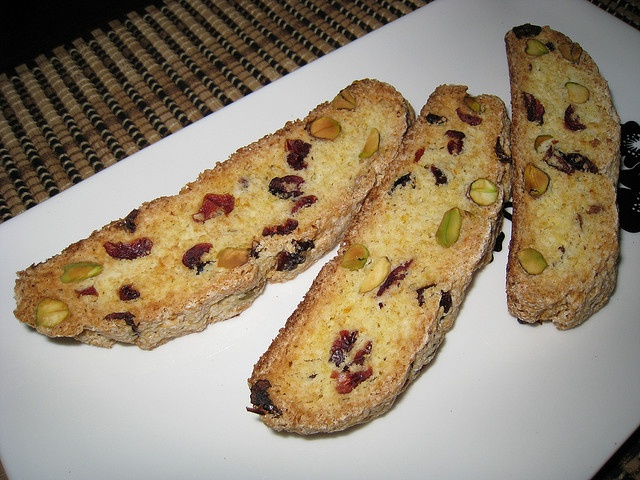 Cranberry, Orange and Pistachio Biscotti by Kevin - Closet Cooking ...