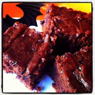 Vegan Pumpkin Brownies | baked goods: recipes to try | Pinterest