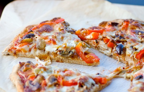 Whole Wheat Veggie Pizza