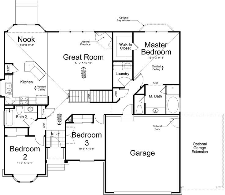 catania ivory homes floor plan main level ivory homes