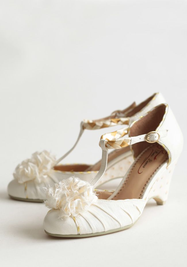 Ruche s classy amp cute vintage inspired shoes offbeat bride