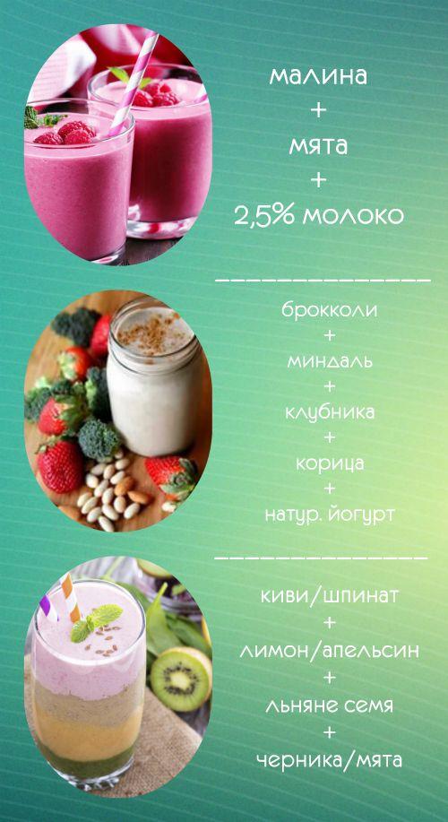 Смузи для беременных рецепты с фото простые и вкусные 77