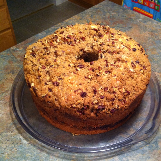 Pecan Coffee cake pound cake | Sweets | Pinterest