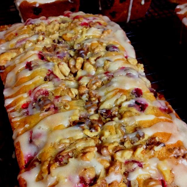 Orange Cranberry Walnut Bread | food stuff | Pinterest