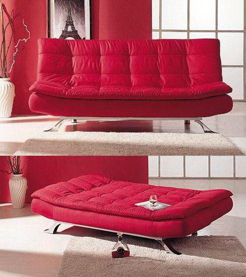 Modern comfortable sofa beds home pinterest for Sofa cama puff barato
