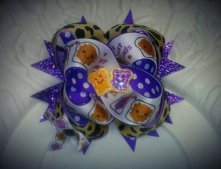 "PB & J Best Friends Bow "" 7.00 
