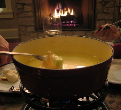 Traditional Swiss Fondue | In the Kitchen 3 | Pinterest