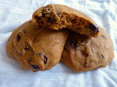 pumpkin chocolate chip cookies | Recipes to try | Pinterest