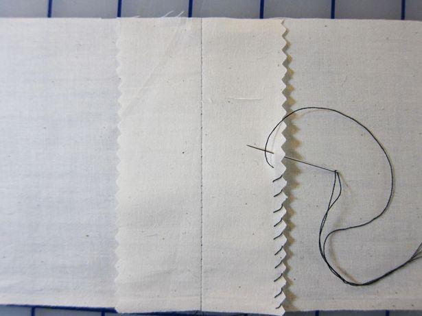 Knitting Overcast Stitch : Hand overcasting costura Pinterest