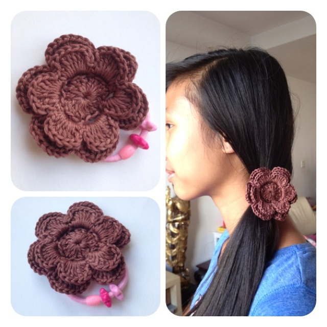 Crochet Hair Rubber Band : Pin by Cartoon Crochet on Sweet Handmade Crochet Pinterest