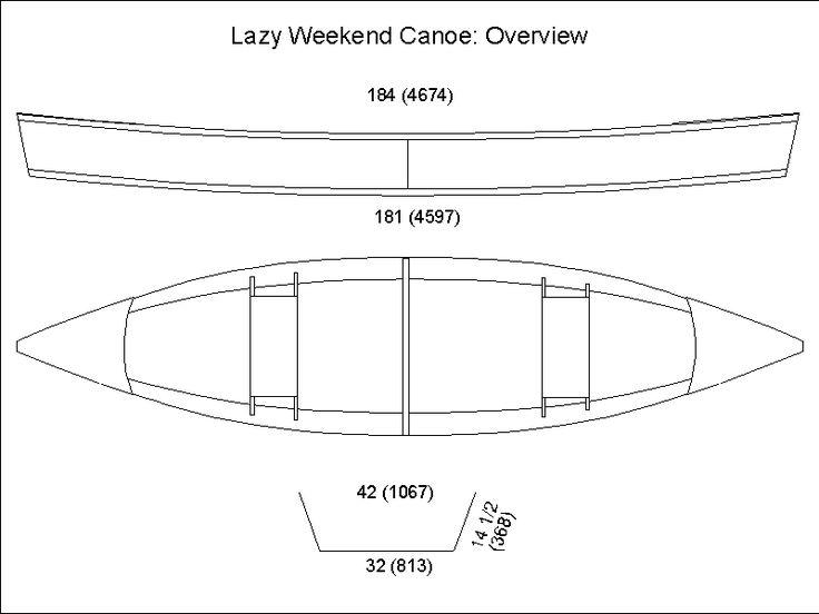 Lazy Weekend Canoe | boat -- pirogue | Pinterest