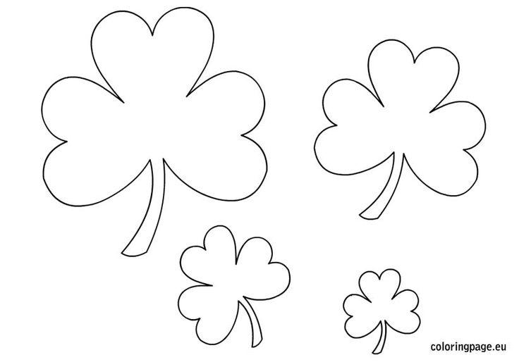 Shamrock templates | Education - St. Patricks Day | Pinterest