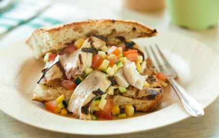 Grilled Swordfish Sandwiches with Summer Squash Salsa | Whole Foods ...