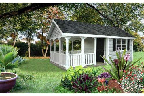 Garden Shed with a Porch :) | Love gorgeous old sheds | Pinterest
