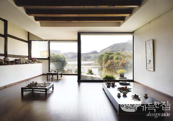 Modern hanok korea my heart is in korea for Korean style home decor