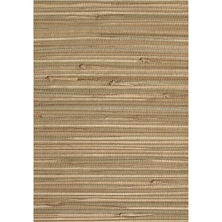 Shop Allen + Roth Taupe Grasscloth Wallpaper At Lowes.com
