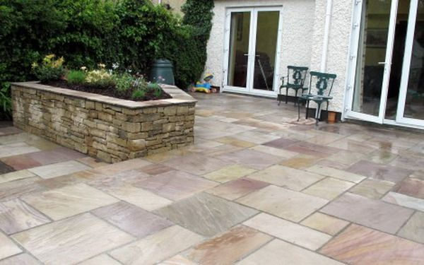 Patio paver stone decorating ideas paver stone ideas pinterest - Paver designs for backyard ...