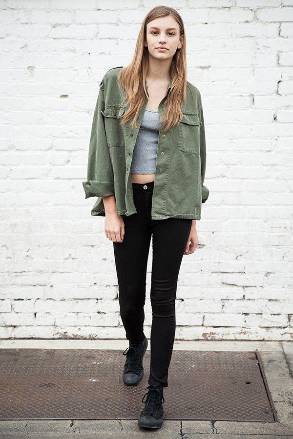 Brandy ♥ Melville   Alice Military Jacket   wear   Pinterest