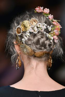 where to buy friendship bracelets Dolce  Gabbana 2014  hair 2