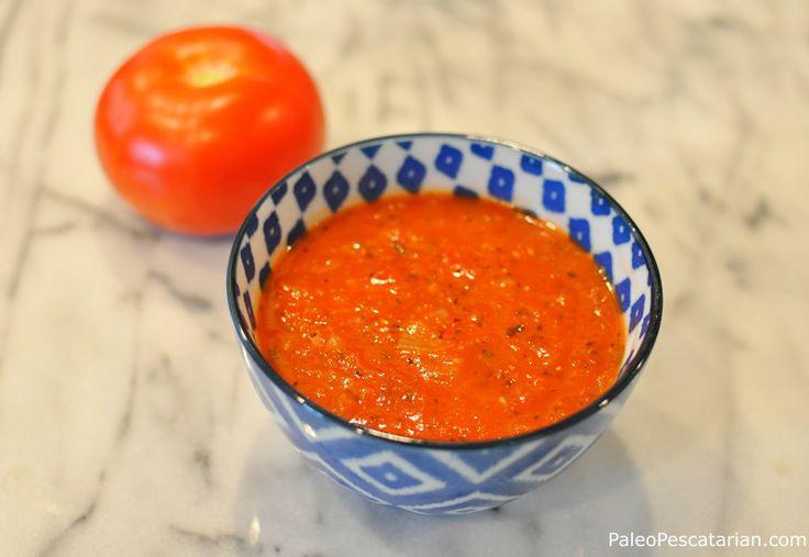 Simple Tomato Basil Soup   P a l e o   Pinterest